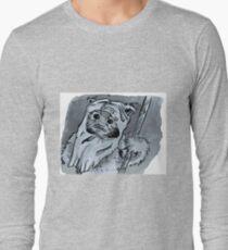 Ewok!! Mixed Media Illustration  T-Shirt