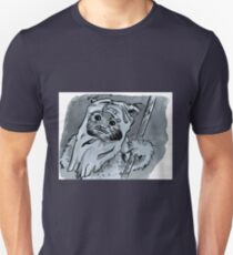 Ewok!! Mixed Media Illustration  Unisex T-Shirt