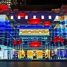 Hot Lips - Customs House - Sydney Vivid Festival - Australia by Bryan Freeman