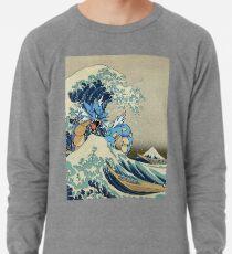 Die große Welle vor Garados Leichter Pullover