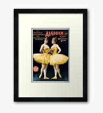 Aladdin Jr 4 - Strobridge - 1894 Framed Print