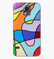 Psychedelic scribbles Case/Skin for Samsung Galaxy