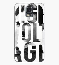 Claim to Fame Series 01 - Nikola Tesla Case/Skin for Samsung Galaxy