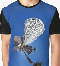 Squeezed Los Angeles Highrise Palm Tree Abstract Graphic T-Shirt