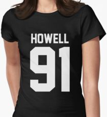 Howell 91 White Women's Fitted T-Shirt