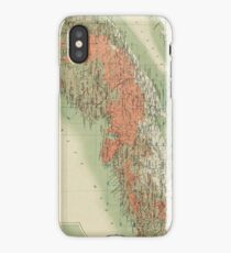 Vintage Geological Map of Nova Scotia (1906) iPhone Case