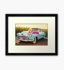 Back to the 50's Framed Print