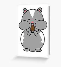 Hamster Greeting Card