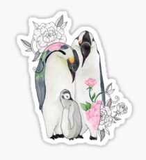 Penguin Family - 4erta Sticker
