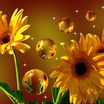 The World Of Sunflowers 6 by MrsBaker