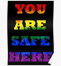 Safe Space Poster V. 1 Poster