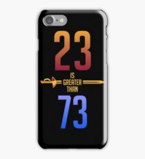 23>73 iPhone Case/Skin