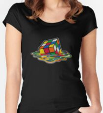 Rubik's Cube Women's Fitted Scoop T-Shirt