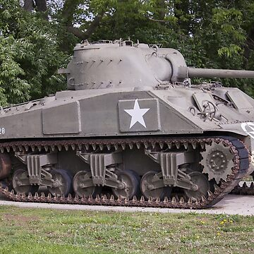 Sherman Tank by cvdad