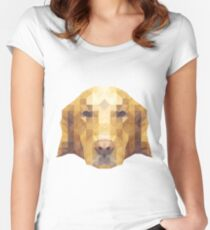 geometric lab Women's Fitted Scoop T-Shirt