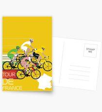Tour De France Postcards