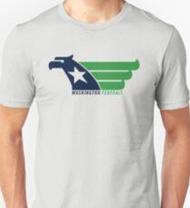 DEFUNCT - WASHINGTON FEDERALS Unisex T-Shirt a8a9eee76