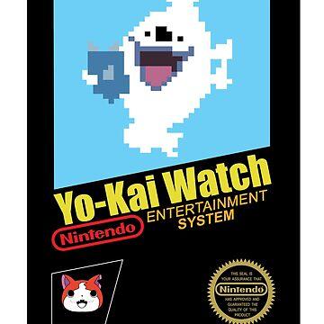 Yo-Kai Watch old school Nintendo game by oponce