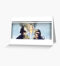 Outpost 86 - Season 1 Greeting Card