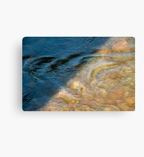 Sun and Shadow, Talvera River, Bolzano/Bozen, Italy Canvas Print