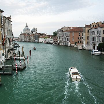 Scene on the Grand Canal, Venice by leemcintyre