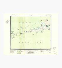 USGS TOPO Map Alaska AK Atka 360551 1952 250000 Photographic Print