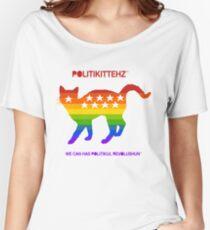 LGBTQ KITTEHZ Women's Relaxed Fit T-Shirt