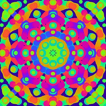Psychedelic kaleidoscope 4 by chloemease