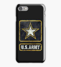 Ultra-Vintage US Army Emblem iPhone Case/Skin