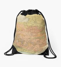 Vintage Map of Guatemala (1902) Drawstring Bag
