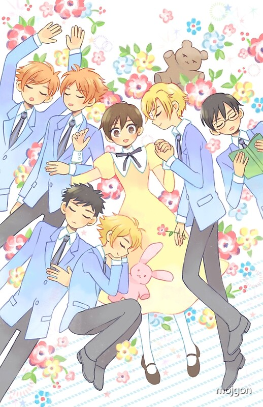 Quot Ouran High School Host Club Zzz Quot Posters By Mojgon