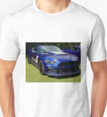 Mustang sunburst Unisex T-Shirt