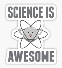 Science Is Awesome Sticker
