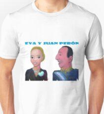 Eva y Juan Perón por Diego Manuel T-Shirt