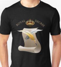 The Royal Decree Unisex T-Shirt