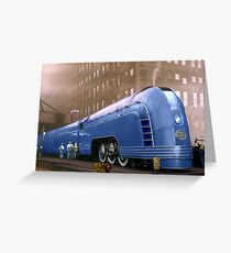 New York Central Greeting Card