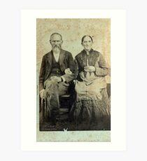 James Marion & Martha George - Jones Art Print