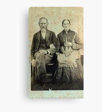 James Marion & Martha George - Jones Canvas Print