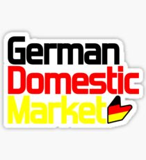 German Domestic Market (2) Sticker