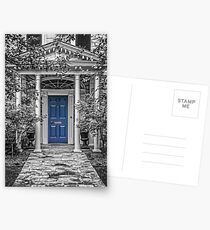 Blue door Postcards