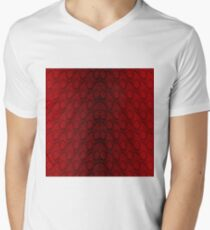 Red and Black Python Snake Skin Reptile Scales T-Shirt