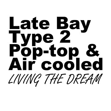 Late Bay Pop Type 2 Pop Top Black LTD by splashgti
