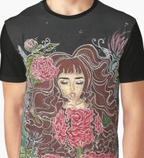 Girl in the Garden Graphic T-Shirt