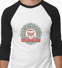 Retro Badge Sixties Red Green Grunge T-Shirt