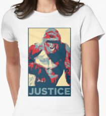 Harambe: Justice Womens Fitted T-Shirt