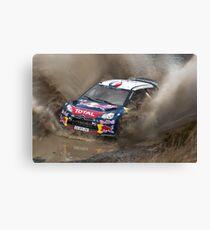 World Rally Car - Sebastien Loeb Canvas Print