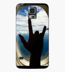 Rocking Out on a Plane Case/Skin for Samsung Galaxy