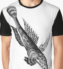 Dive Fish  Graphic T-Shirt