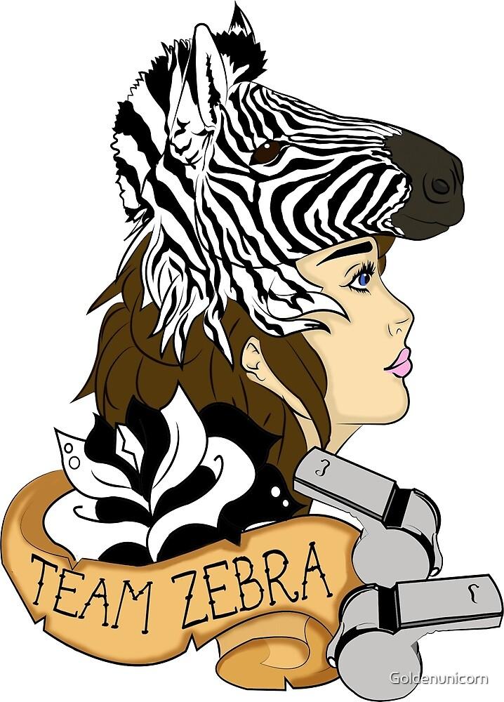 Team Zebra by Goldenunicorn