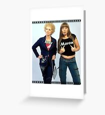 KATH & KIM Greeting Card